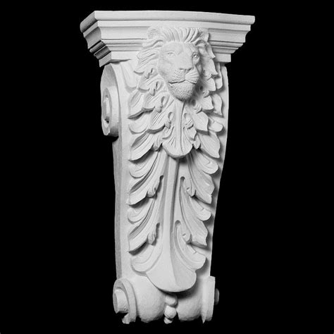 Resin Corbel by Cb 220 Series Acanthus Leaf Withbeads And Resin