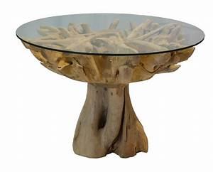 Glastisch Mit Holz : teakholz tisch glas ~ Michelbontemps.com Haus und Dekorationen