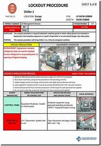 Lockout Tagout Procedure Development Lp Management Services