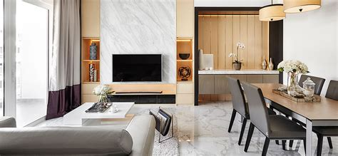 condo  blends minimalism   touch  luxury