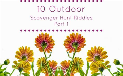 Printable Halloween Scavenger Hunt Clues by Hundreds Of Free Scavenger Hunt Ideas Lists Riddles Amp Clues