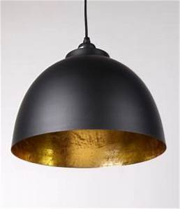 Pendelleuchte Schwarz Gold : moderne pendelleuchte farbe schwarz gold durchmesser 30 cm kaufen bei richhomeshop ~ Frokenaadalensverden.com Haus und Dekorationen