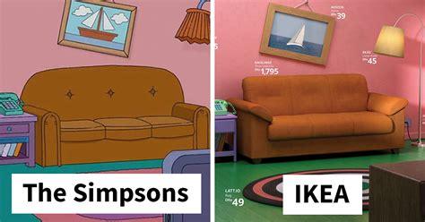 ikea recreates iconic  simpsons stranger