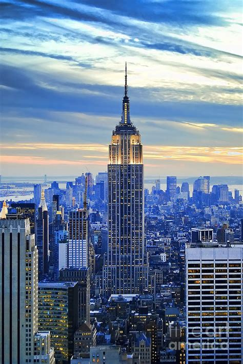 Empire State Building New York City Usa Photograph By