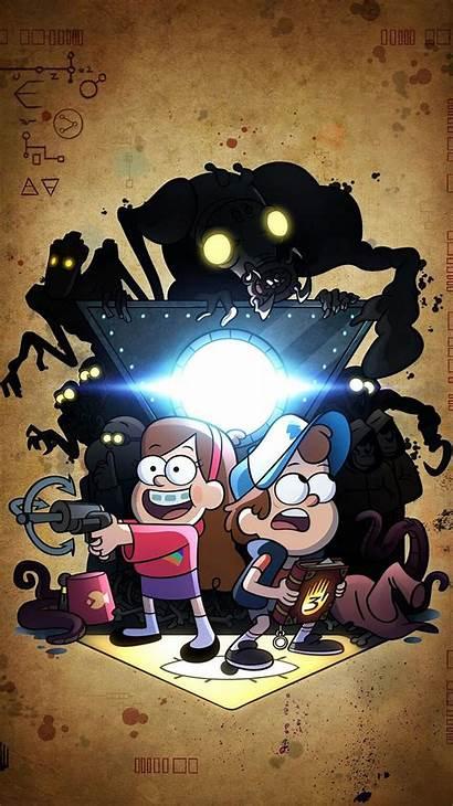 Gravity Falls Phone Wallpapers Poster Bill Disney