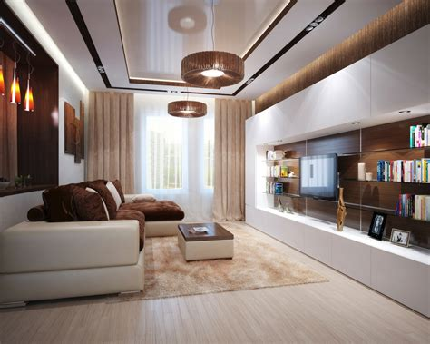 livingroom l brown cream living room l shaped sofa interior design ideas