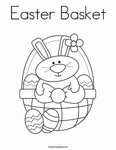 Easter Basket Coloring Page Coloring Pages