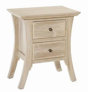 Une Table De Chevet Avec Deux Tiroirs Astuces Bricolage