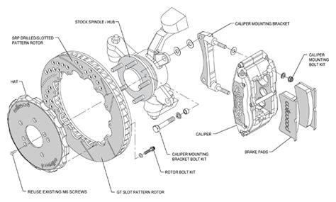 Wilwood Disc Brake Kit,front,fits 03-09 Nissan 350z,03-07