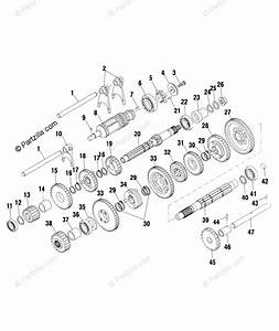 Polaris Atv 2002 Oem Parts Diagram For Clutch  3