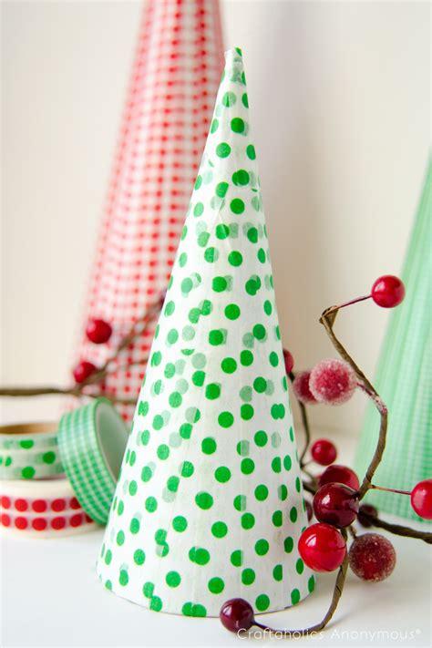 craftaholics anonymous 174 washi tape christmas trees