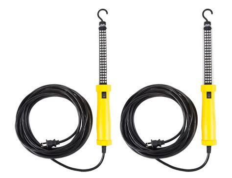 corded led work light bayco sl 2125 2 pack corded led work light with magnetic