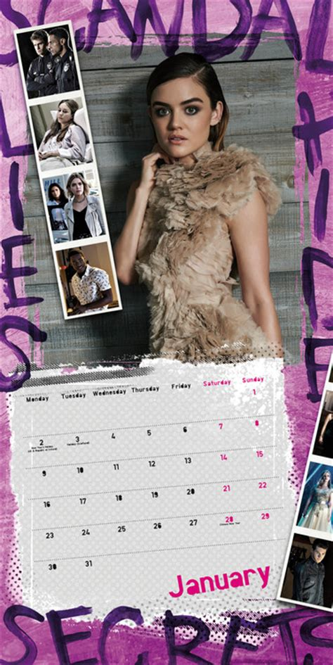 pretty liars calendars ukpostersabposterscom