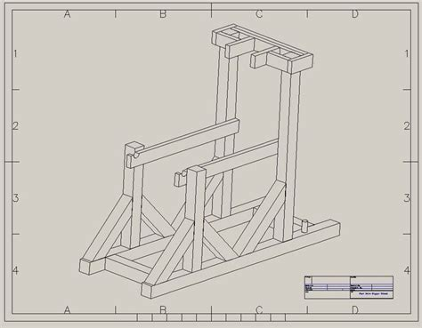 woodworking projects post hole digger stand pinterest
