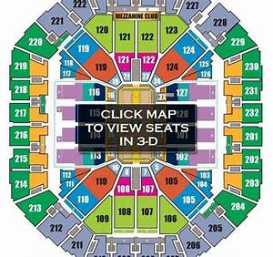 Oracle Arena 3d Seating