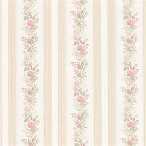 Tapete Landhaus Streifen : vintage rose englische landhaus satintapeten rosen streifen art nr 68352 ~ Sanjose-hotels-ca.com Haus und Dekorationen