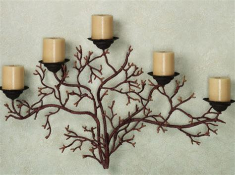 Wall Decor Candle Sconces Candle Holders Metal Hanging