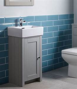 Tavistock Lansdown 400mm Pebble Grey Cloakroom Unit And