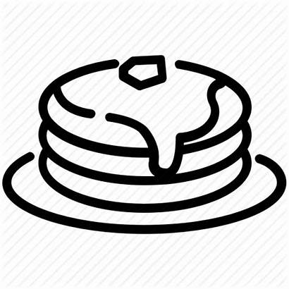 Pancake Dessert Icon Drawing Cake Clipartmag