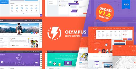social network profile template olympus social network psd template v1 6 by odin design themeforest