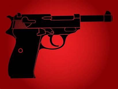 Gun Vector Walther Pistol Firearms Graphics Freevector