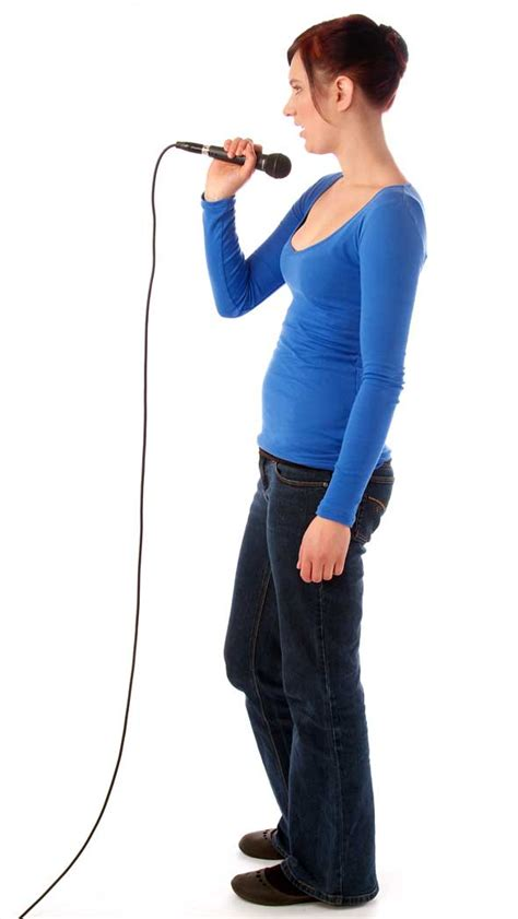 correct  incorrect singing posture learn  play