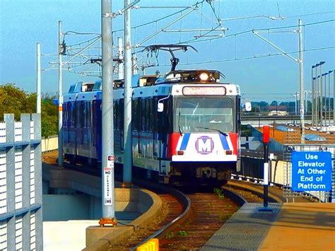 st louis light rail 8 bullets fired into side of light rail train near st
