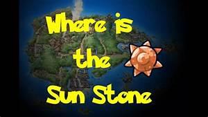 Where Is The Sun Stone Pokemon Rubysapphireemerald