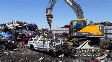 destroy car recycle  sas extreme auto processor
