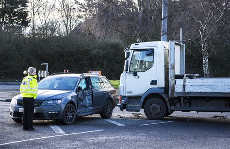 Serious Crash As Truck Ploughs Into Car On Great Western