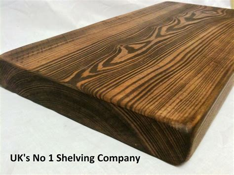 Wooden Floating Shelves by 7 Quot X 3 Quot Chunky Wood Shelf Wooden Floating Shelves Ebay