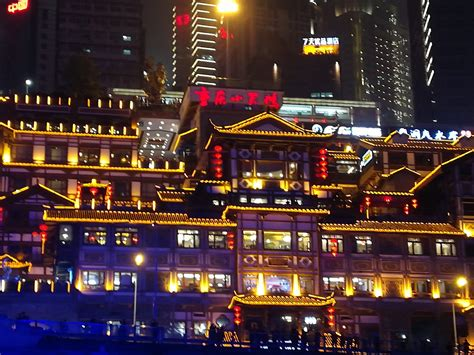 china experience night cruise   yangtze river chongqing