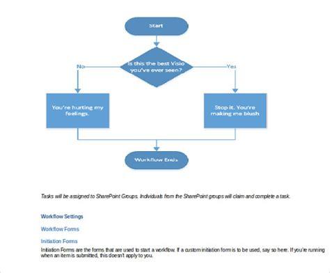 workflow template word 20 workflow diagram templates sle exle format free premium templates