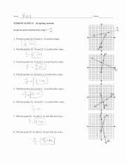 finding slope from a graph worksheet answers find slope graph worksheet answer key pdf name kqjf period finding slope 1 graphing method