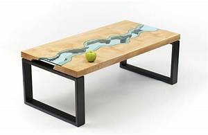 greg klassen river collection live edge wood and glass With rough edge wood coffee table