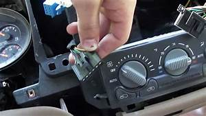1998 Chevy Blazer  How To Remove The Dash Bezel And