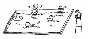 Swimming Pool Clipart Kid