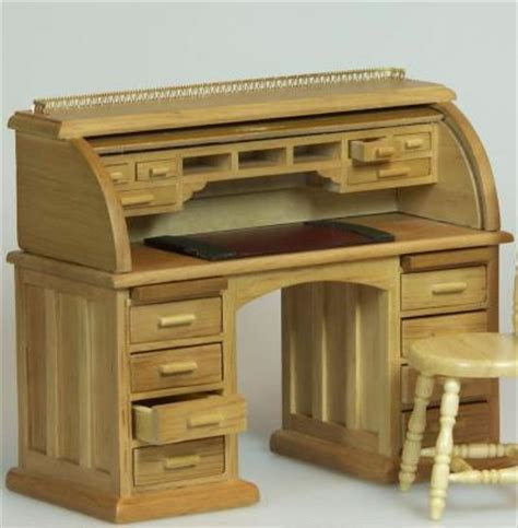 secretaire baise bureau dolls house miniature oak secretaire bureau xy750oak only