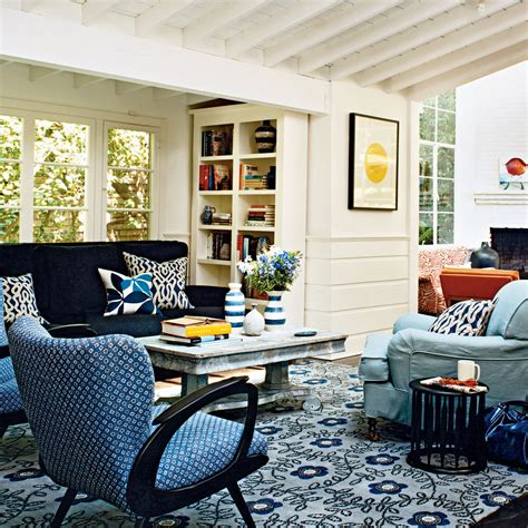 Modern Cottage Decor - Colorful, Cozy Spaces - Coastal Living