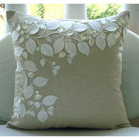 Pillow Slipcovers by Linen Throw Pillow Covers Home Furniture Design