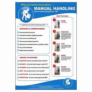 Safe Manual Handling Poster