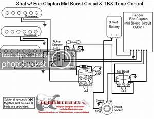 Fender Eric Clapton Stratocaster Wiring Diagram