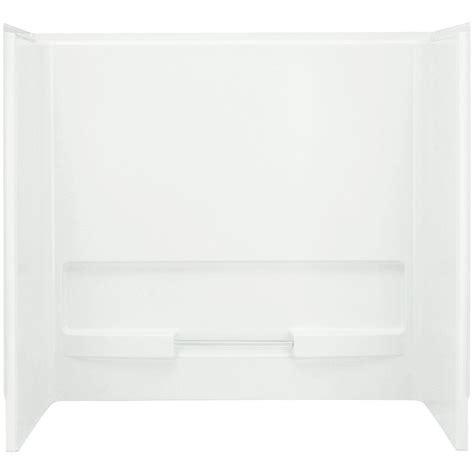 bathtub wall set sterling advantage 31 1 4 in x 60 in x 56 1 4 in 3