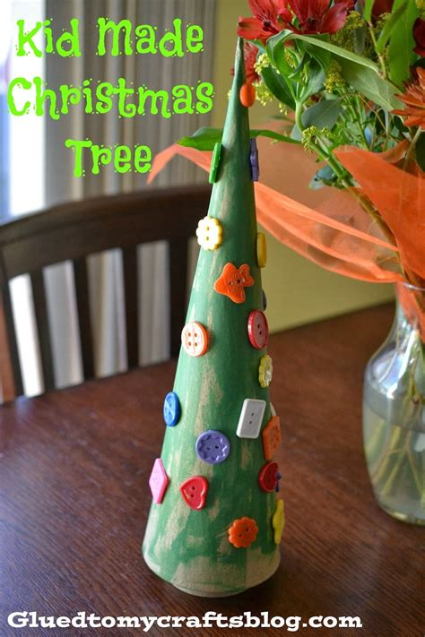 kid friendly christmas crafts kid made tree kid friendly craft glued to my crafts