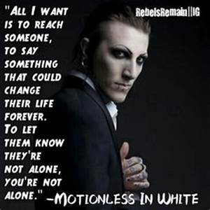 1000+ images about motionless in white on Pinterest ...