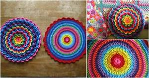 How To Crochet Diy Blooming Flower Cushion