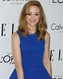 Jayma Mays in Multicolored Brian Atwood 'Encanta' Sandals
