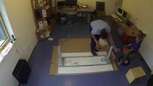 Ikea Schreibtisch Elektrisch : ikea galant desk electrically adjustable in height elektrisch h henverstellbarer schreibtisch ~ Eleganceandgraceweddings.com Haus und Dekorationen