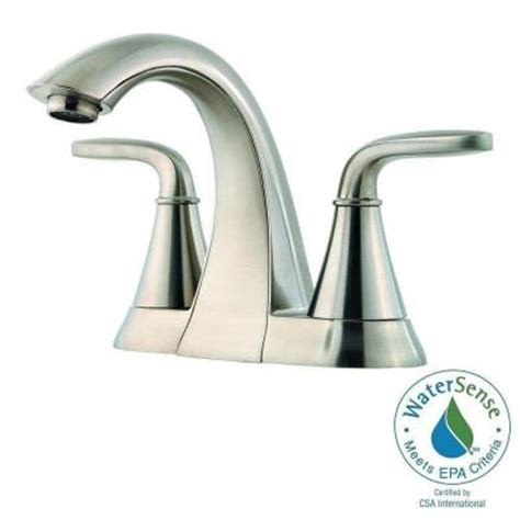 Pfister Pasadena Faucet by Pfister Pasadena 4 In Centerset 2 Handle High Arc