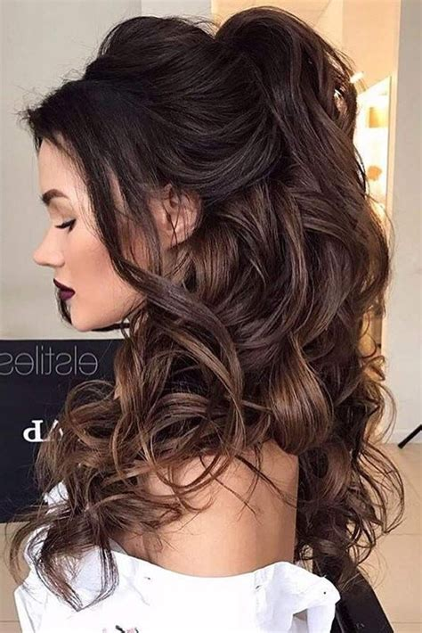 ideas  prom long hairstyles